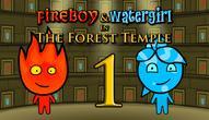 Gra: Ogień i Woda 1 Leśna Świątynia