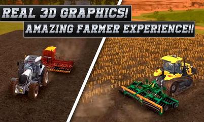 Game: Real Tractor Farming Simulator : Heavy Duty Tractor