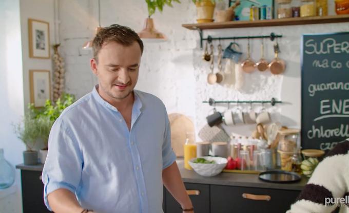 Grzesiek Zawierucha ponownie w kuchni Ani Starmach - przygotują pyszne wrapy! Zapowiedź 4 odcinka serii