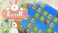 Gra: Easter Eggs Match 3 Deluxe