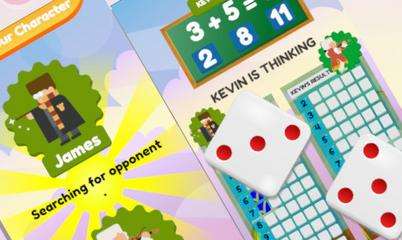 Spiel: Math And Dice Kids Educational Game