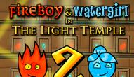 Gra: Fireboy and Watergirl 2 Light Temple