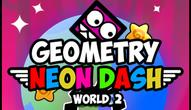 Gra: Geometry Neon Dash World 2