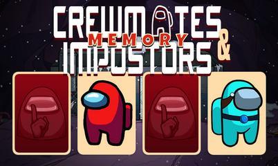 Spiel: Crewmates and Impostors Memory