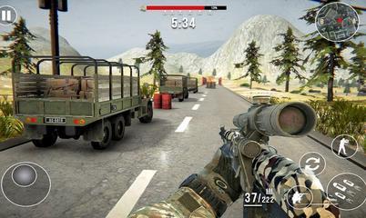 Gra: FPS Shooting Strike: Modern Combat War 2k20
