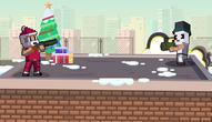 Gra: Xmas Rooftop Battles