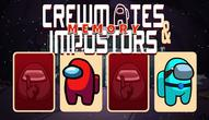Gra: Crewmates and Impostors Memory