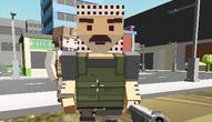 Gra: Block Pixel Cop