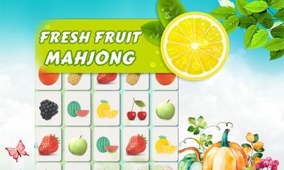 Spiel: Fresh Fruit Mahjong Connection