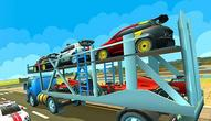 Jeu: Cargo Euro Truck Drive Car Transport New