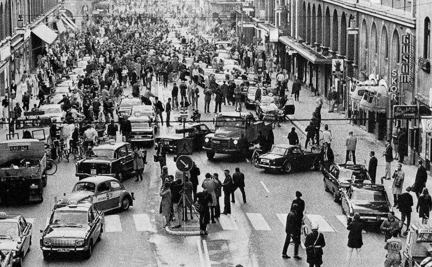 Dzień H - komunikacyjna rewolucja w Szwecji