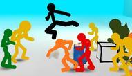 Jeu: Stickman Street Fighting 3D