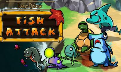 Gra: Tower defense: Fish attack
