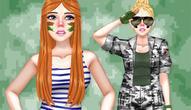 Gra: Princess Military Fashion