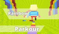 Gra: KOGAMA Rainbow Parkour