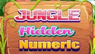 Gra: Jungle Hidden Numerics