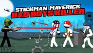Gra: Stickman Maverick: Bad boys killer