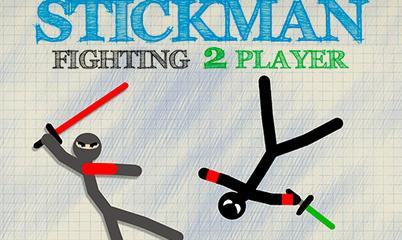 Gra: Stickman Fighting 2 Player