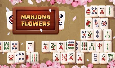Spiel: Mahjong Flowers