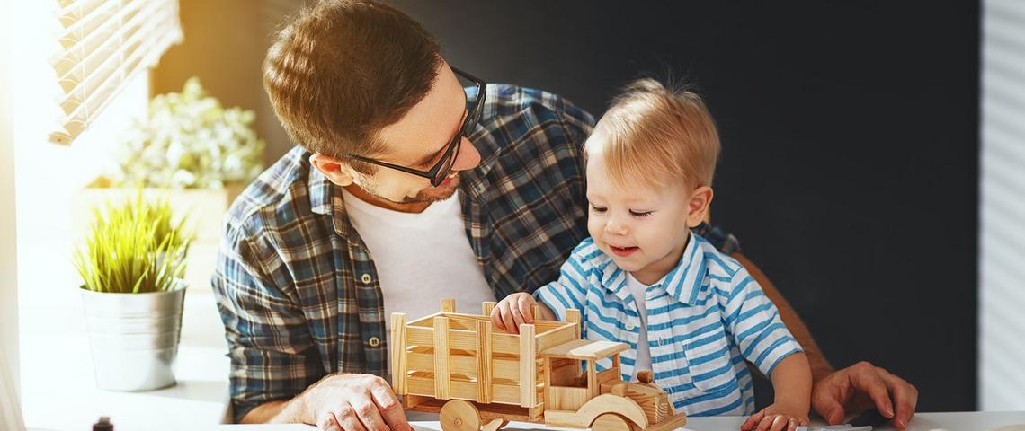 Czego uczy tata?