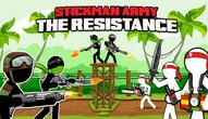 Gra: Stickman Army The Resistance