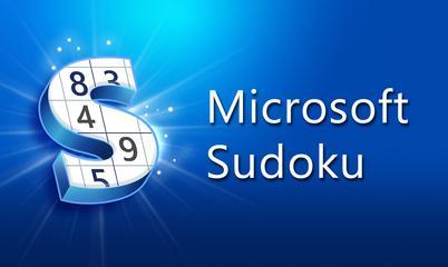 Spiel: Microsoft Sudoku