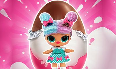Gra: Baby Dolls: Surprise Eggs Opening