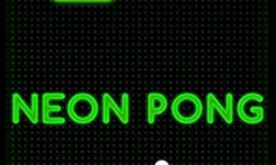 Gra: Neon Pong