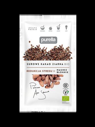 Surowe kakao ziarna BIO