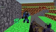 Gra: Blocky Wars Advanced Combat SWAT Multiplayer