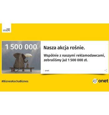 #BiznesKochaBiznes. Zebraliśmy już 1,5 mln zł!