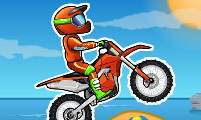 Spiel: Moto X3M Bike Race Game