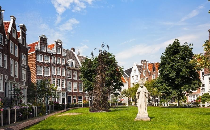 Beginaż w Amsterdamie
