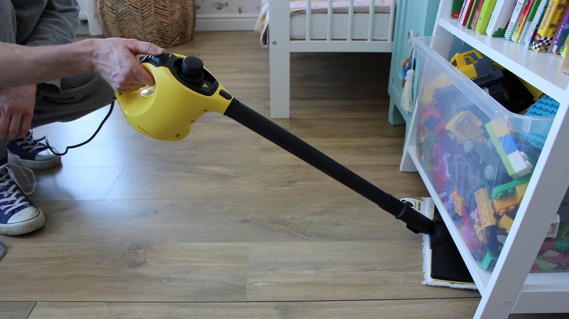Dziecinnie proste sprzątanie – nasz test parownicy SC 1 EasyFix Kärcher