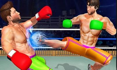 Gra: BodyBuilder Ring Fighting Club Wrestling Games