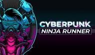 Spiel: Cyberpunk Ninja Runner