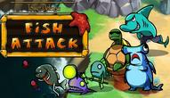 Gra: Tower defense: Fish attack