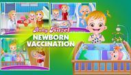 Gra: Baby Hazel Newborn Vaccination