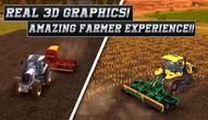 Spiel: Real Tractor Farming Simulator : Heavy Duty Tractor
