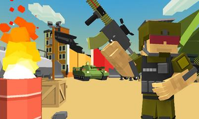 Spiel: Pixel Warrior