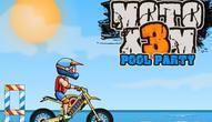 Gra: Moto X3M Pool Party