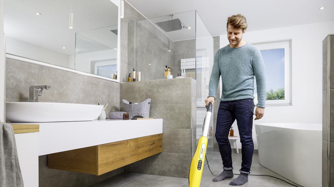 7 sposobów na wykorzystanie parownicy do sprzątania