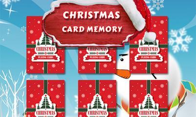 Jeu: Christmas Card Memory