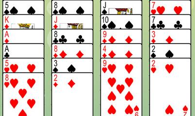Spiel: Freecell Solitaire