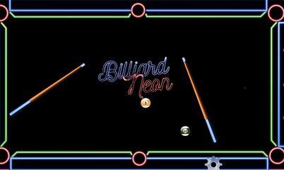Gra: Billiard Neon