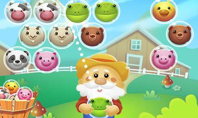 Jeu: Bubble Farm