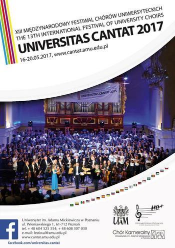 """XIII Międzynarodowy Festiwal Chórów Uniwersyteckich """"Universitas Cantat"""" 2017 - dzień 3"""