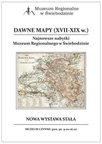 Wystawa Dawne Mapy (XVII-XIX w.)