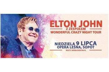 Elthon John z zespołem Wonderful Crazy Night Tour