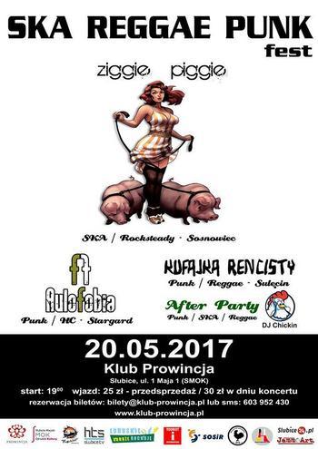 Reggae Punk Fest: Ziggie Piggie, Aulofobia, Kufajka Rencisty
